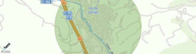 Mapa Sallent