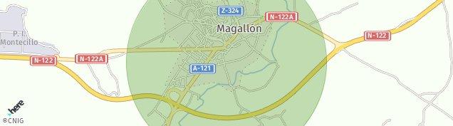 Mapa Magallón