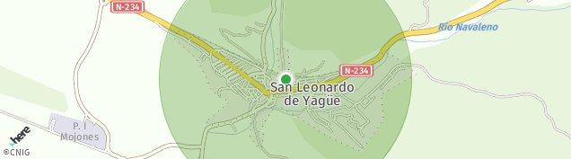 Mapa San Leonardo de Yagüe