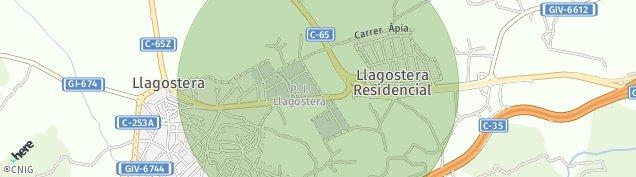 Mapa Llagostera