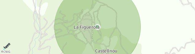 Mapa Castellnou de Bages