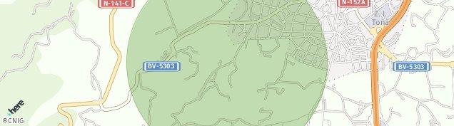 Mapa Tona