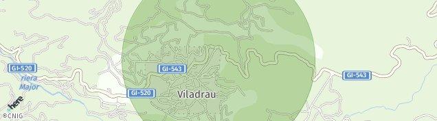 Mapa Viladrau