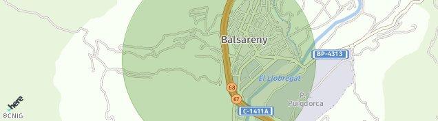 Mapa Balsareny
