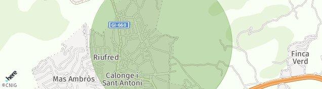 Mapa Calonge