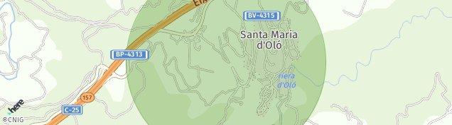 Mapa Santa Maria d'Oló