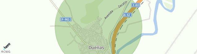 Mapa Dueñas