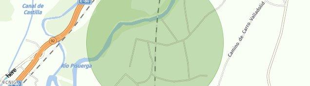 Mapa San Isidro de Dueñas