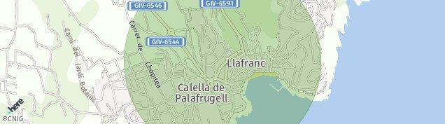 Mapa Llafranc