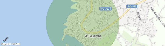 Mapa A Guarda