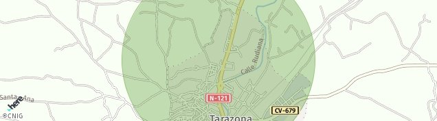 Mapa Tarazona