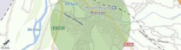Mapa Monzón