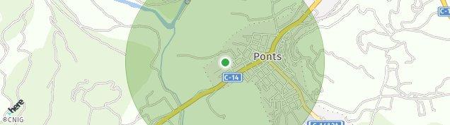 Mapa Ponts