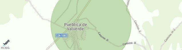 Mapa Pueblica de Valverde