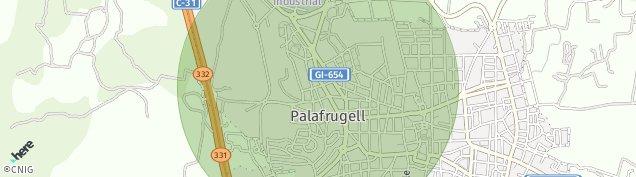 Mapa Palafrugell