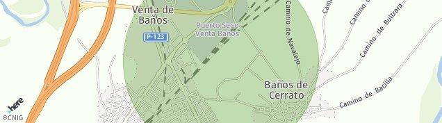 Mapa Venta de Baños