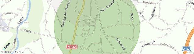 Mapa Verín