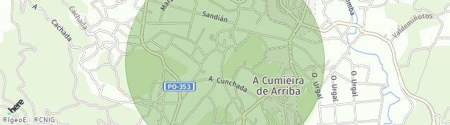 Mapa Lomba