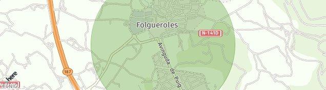 Mapa Folgueroles