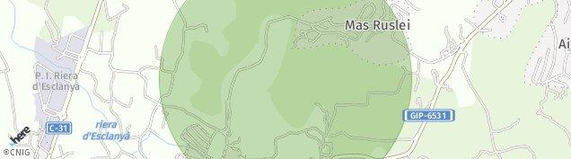Mapa Esclanya