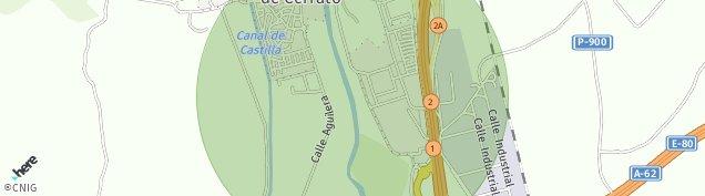 Mapa Calabazanos