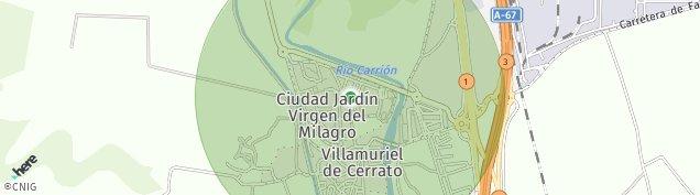 Mapa Villamuriel de Cerrato