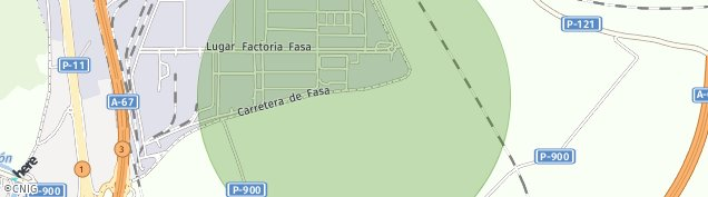Mapa Ciudad Jardin 'virgen Milagro'