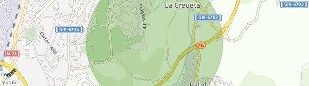 Mapa Palol d'onyar