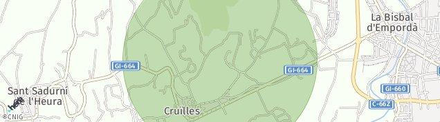 Mapa Cruilles