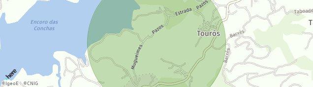 Mapa Mugueimes