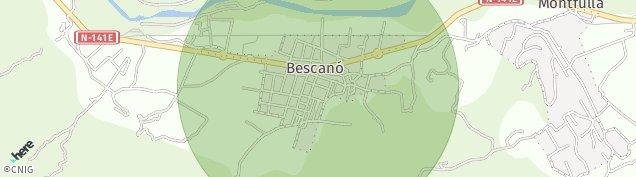 Mapa Bescanó