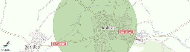 Mapa Ablitas