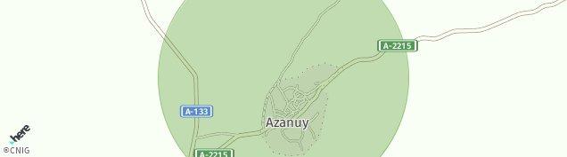 Mapa Azanuy