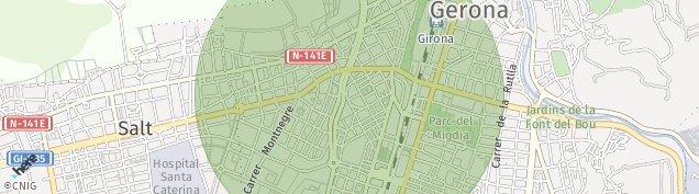Mapa Girona