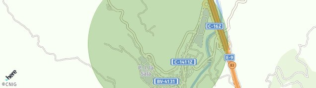 Mapa Puig-reig