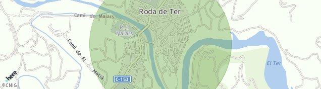 Mapa Roda de Ter