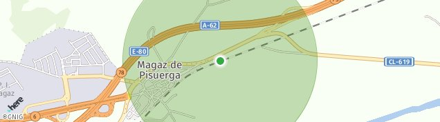 Mapa Magaz de Pisuerga