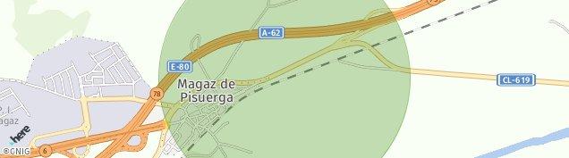 Mapa Castillo de Magaz