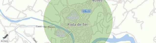 Mapa Les Masies de Roda