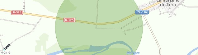 Mapa Camarzana