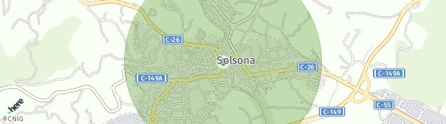 Mapa Solsona
