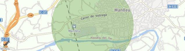 Mapa Manlleu