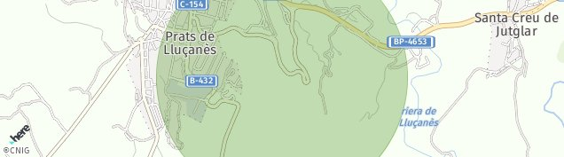 Mapa Prats de Lluçanès