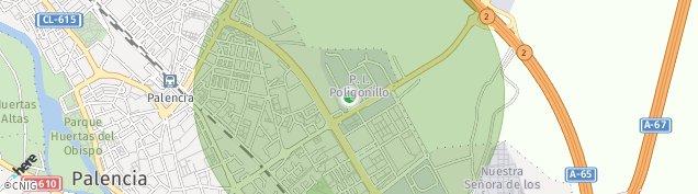 Mapa Palencia