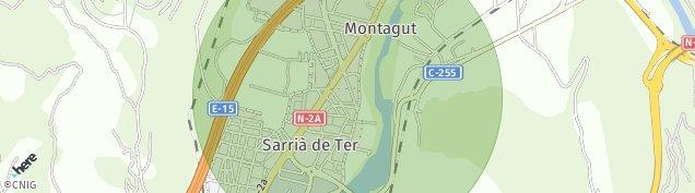 Mapa Pueblo Sarria de Dalt