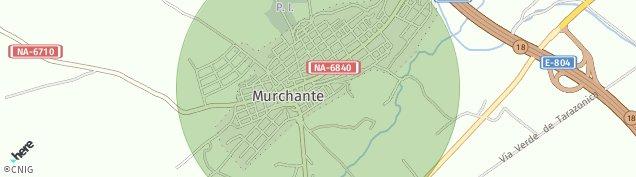 Mapa Murchante