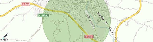 Mapa Barbastro