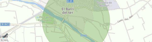Mapa Torroella de Montgrí