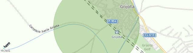 Mapa Grijota