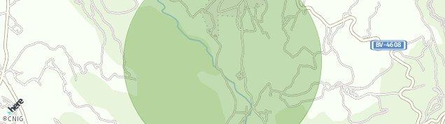 Mapa Sant Boi de Lluçanès
